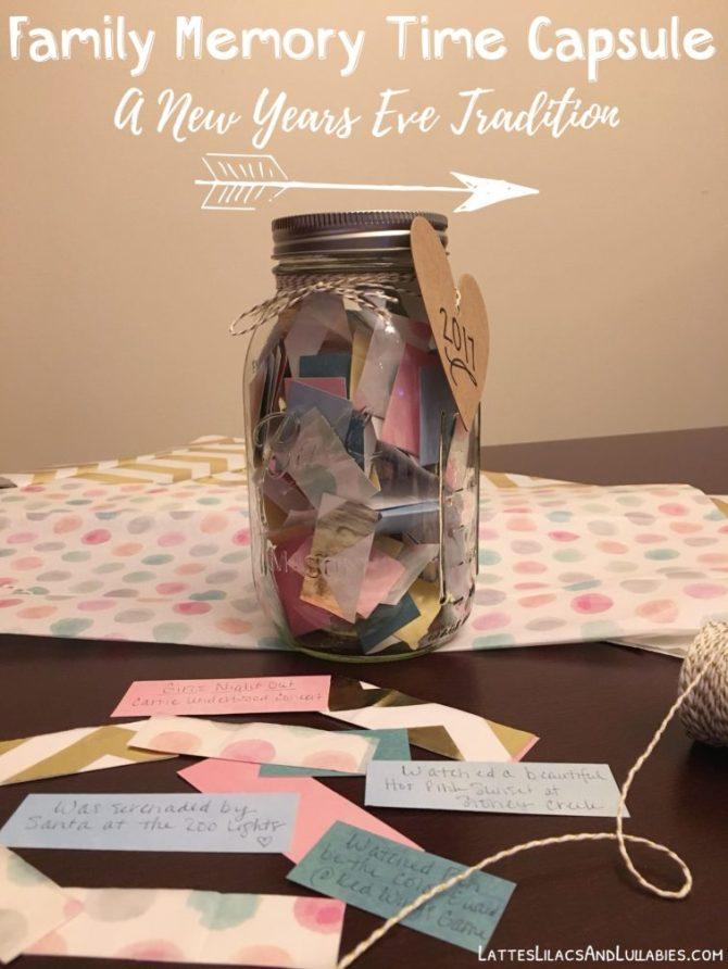 Family Memory Time Capsule