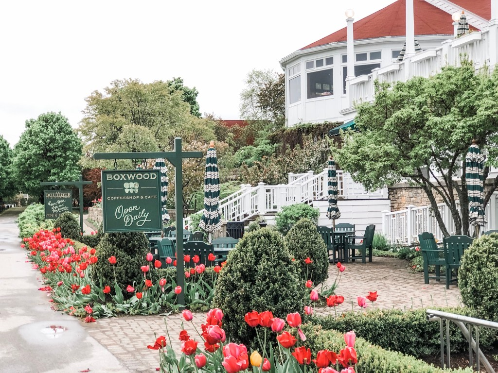 Where to stay and what to see on Mackinac Island. An honest review of Mission Point Resort on Mackinac Island, Michigan.
