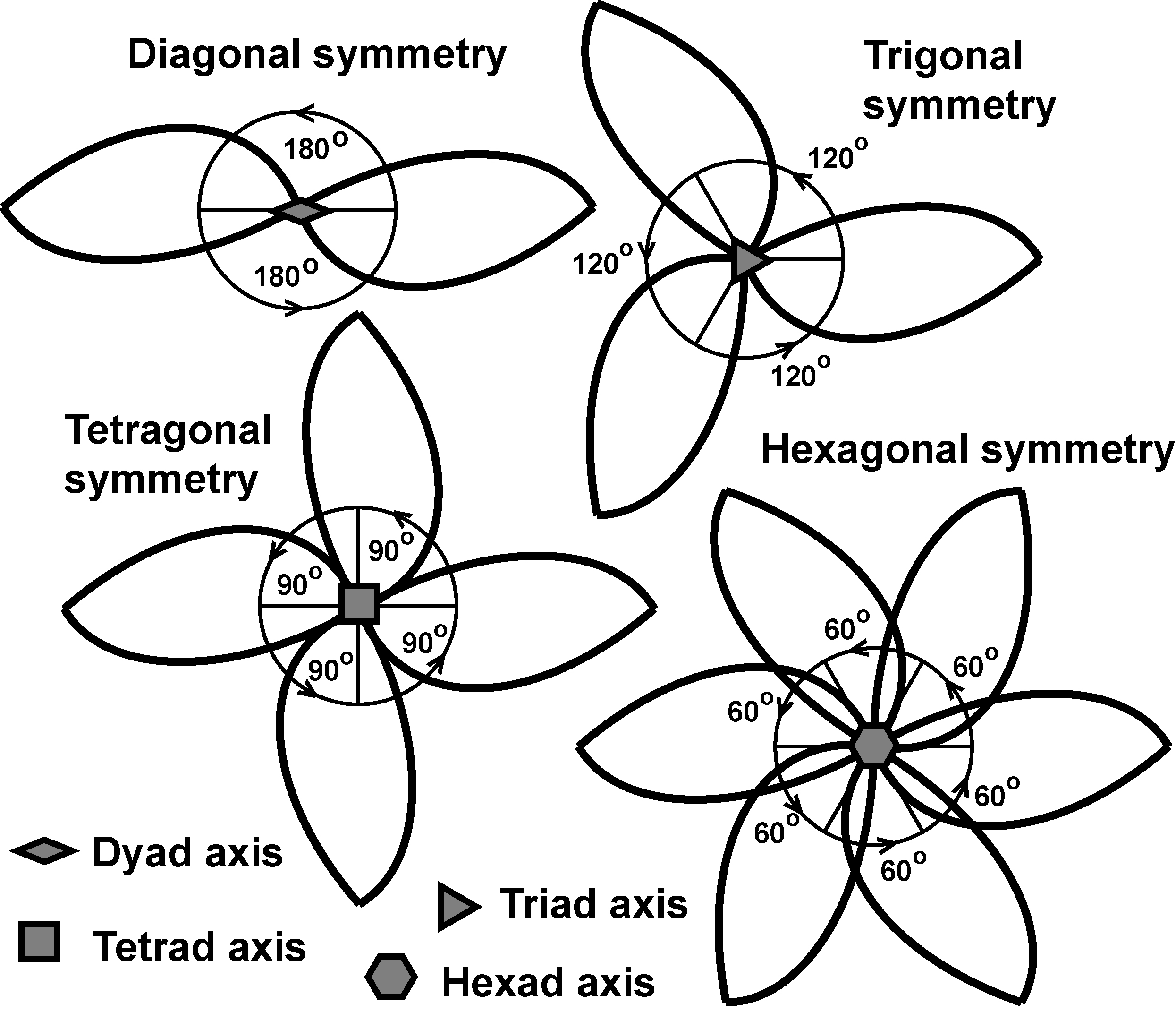 Rotational Symmetry Simply Set Out