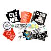 Lattice stickers