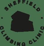 The climbing clinic logo