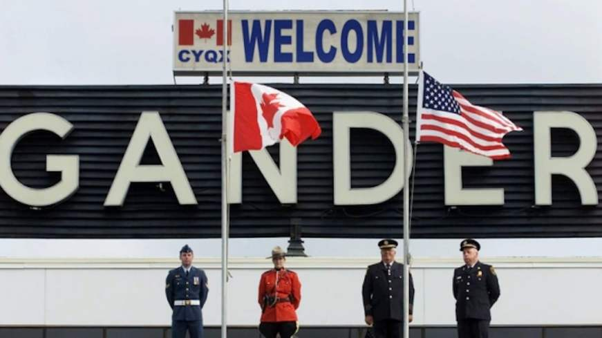 Gander, Halifax