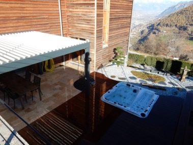 Spa aménagé dans une ambiance zen