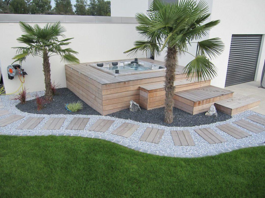 Meuble bois pour aménagé un spa