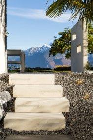 Lattion & Veillard Paysagiste escalier leds béton extérieur