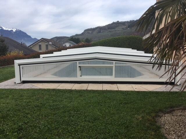 Abri piscine Lattion et Veillard 1