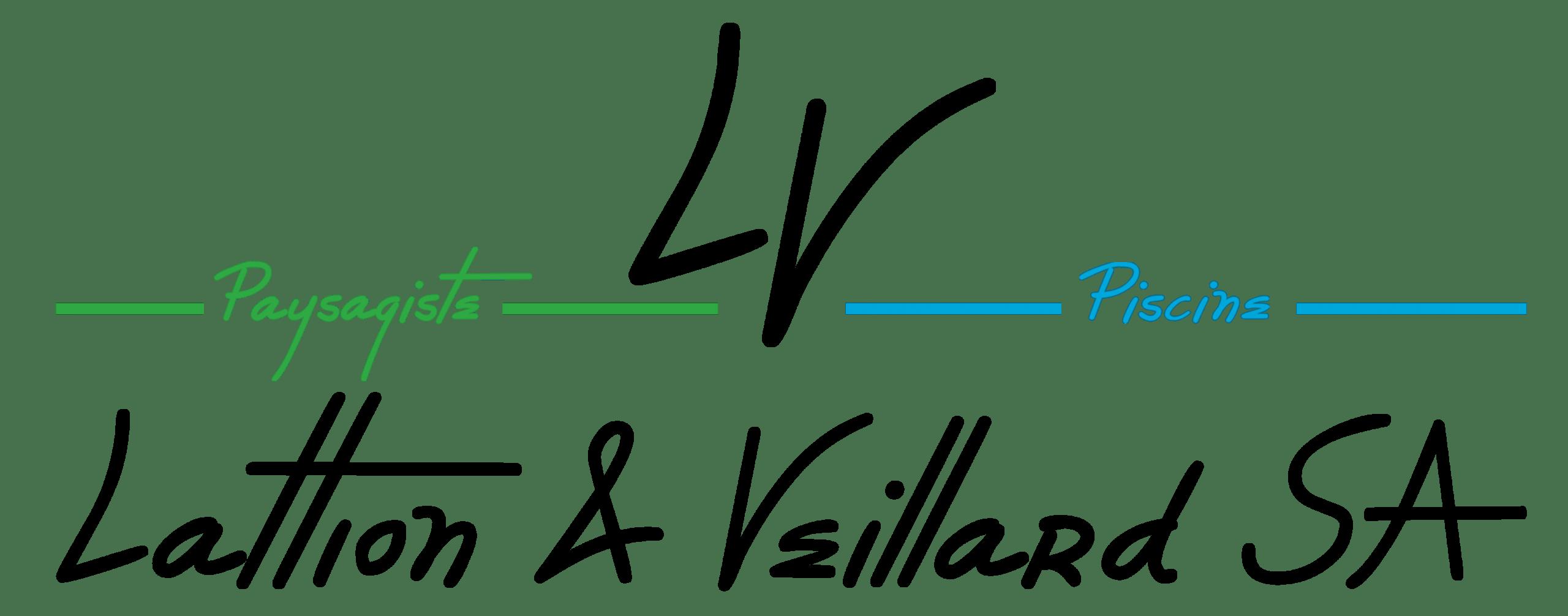 Logo Lattion et Veillard Paysagiste et Piscine