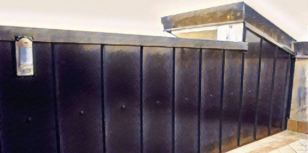 Rivestimento Di Un Muro Esterno A Lastre Lattoneria Tumicelli