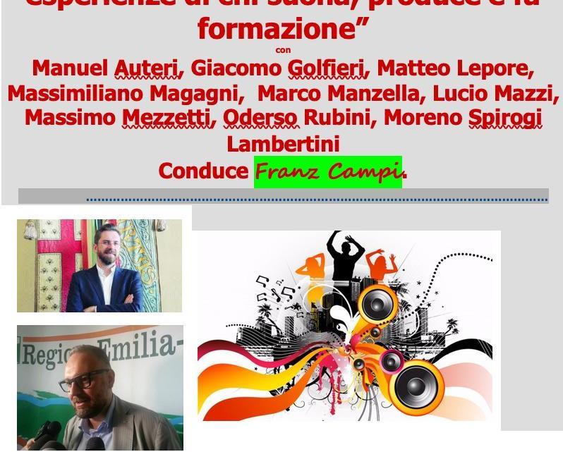 """Evento """"Fare Musica"""" con Franz Campi"""
