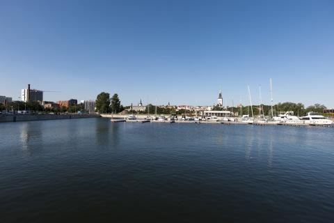 Bild: Im Alten Stadthafen von Tallinn.