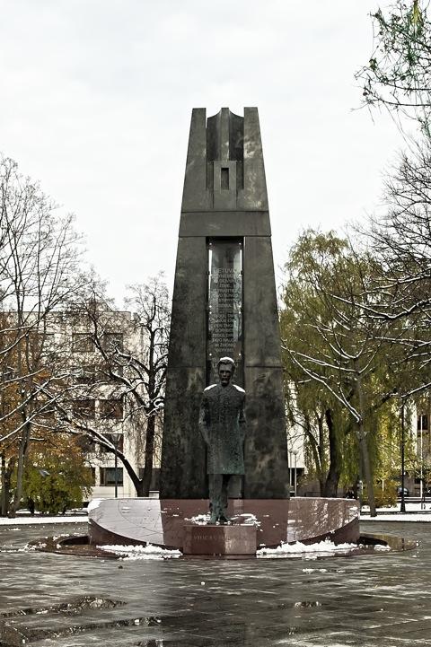 Bild: Vincas Kudirka als General.