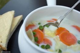 milk vegetable soup