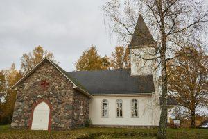 Kārķu baznīca, Valkas novads, Kārķu pagasts