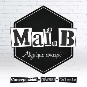 carton invitation inauguration concept store maï b atypique concept toulon recto
