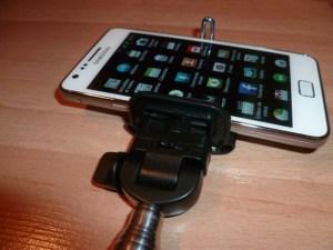 adaptateur smartphone perche selfie master case