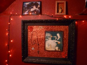 décoration toilettes black heart tattoo