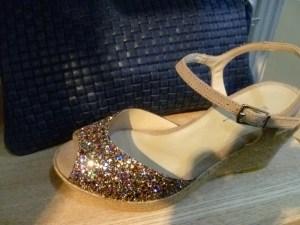 sandales paillettes reqins