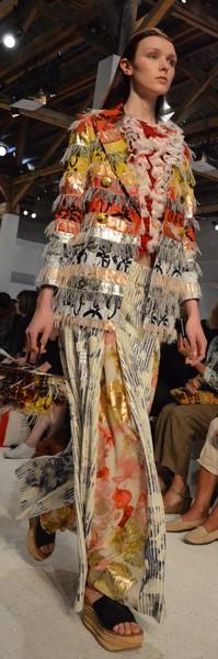 Sophie Sälekari tenue Chloé festival mode hyères 2015