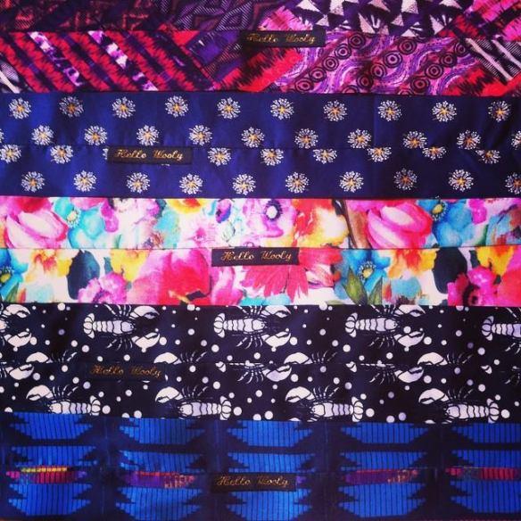 collection été 2015 hello wooly headband headwrap création