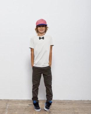 tee-shirt kids noeud bio verlaine et rimbaud