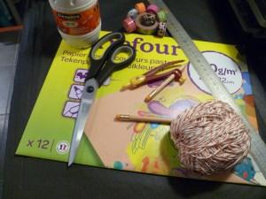matériel loisirs créatifs guirlande fanions