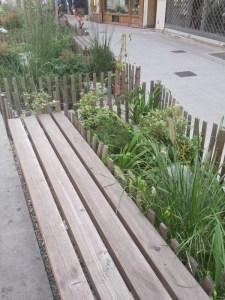 bancs paysager centre ville genoble