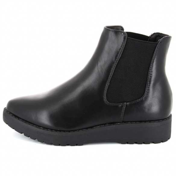 chelsea boots plateforme kiabi
