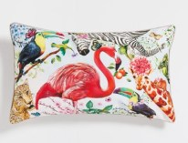 coussin-tropical-zara-home-flamant-rose