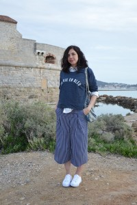 look-mode-tenue-jennyfer-ootd-marine-bleu-jupeculotte