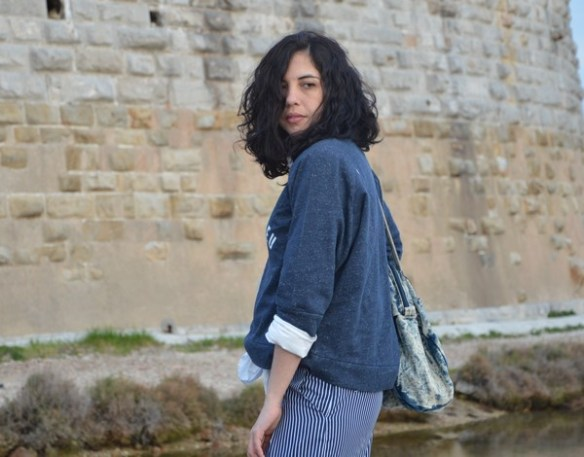 look-outfit-tenue-mode-jennyfer-bleu-marine-printemps