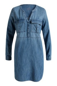 robe-chemise-denim-jean-esprit