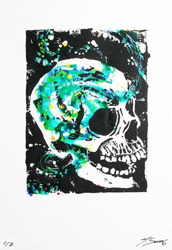 linogravure-crane-couleur-magalisavary-artiste