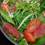 Salade asiatique - Lau à la bouffe