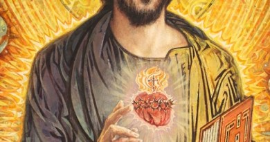 Sacred Heart of Jesus make my heart like unto thine