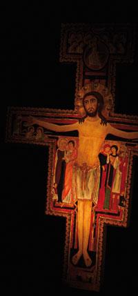 il Crocifisso che parlò a San FRancesco