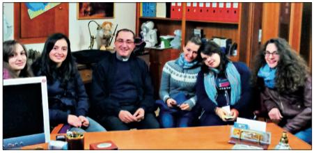 La Gi.Fra. incontra il parroco