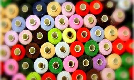 I rocchetti di filo colorato