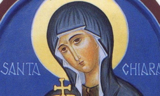 Santa Chiara d'Assisi, una donna infuocata d'amore per Cristo