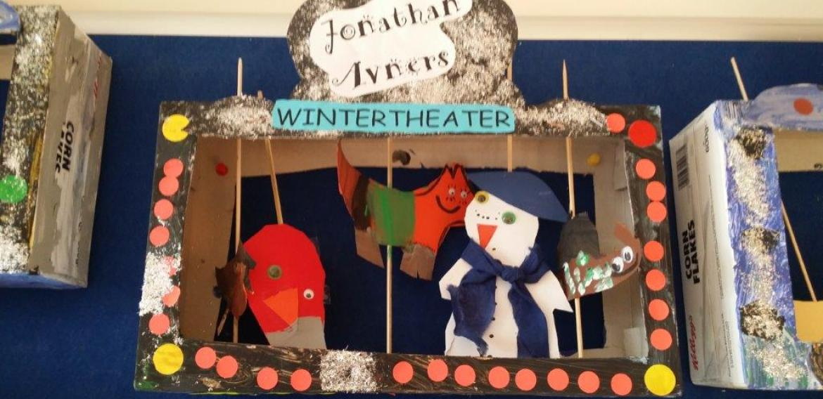 Winter im Kindergarten