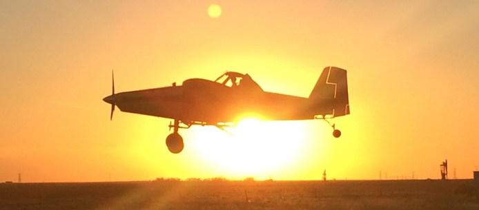 Sunset Plane 10.15.2015
