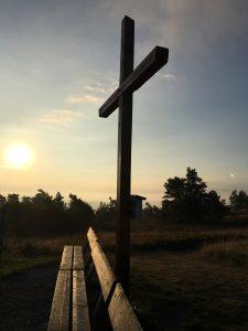 Hier sieht man ein Gipfelkreuz
