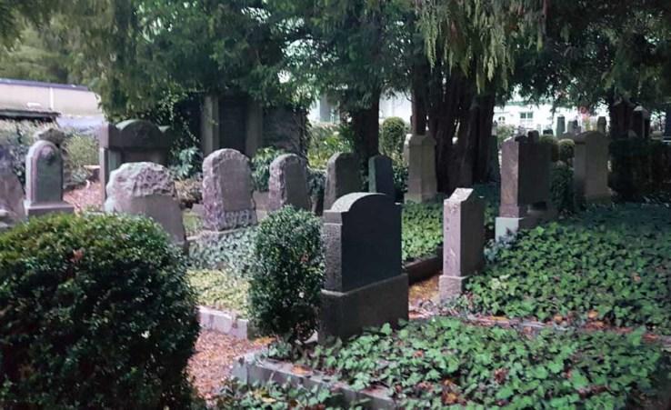 Der jüdische Friedhof in Detmold