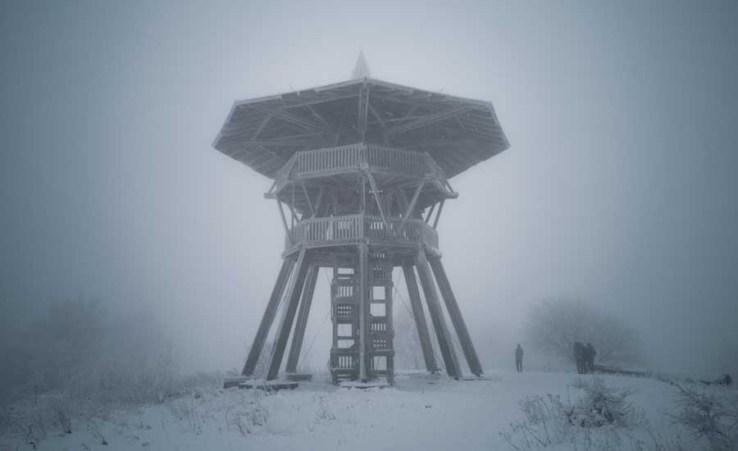 Der Aussichtsturm der preußischen Velmerstot
