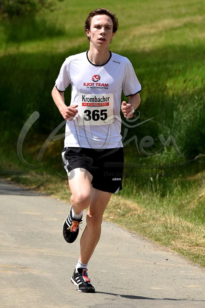 Marco Hoffmann lief diesmal Torben Henrich davon.