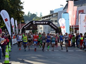 Der Start zum 10. Allgäu Panorama Marathon