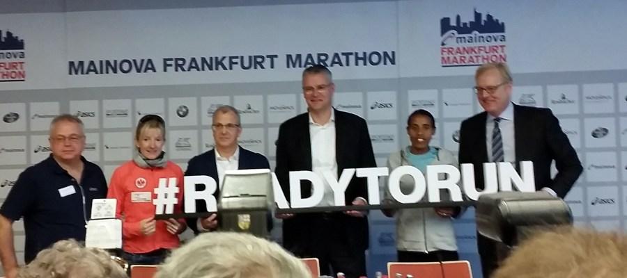 Pressekonferenz Frankfurt Marathon