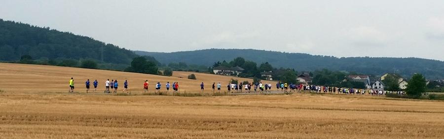 Der WIKA-Staffelmarathon in Klingenberg am Main