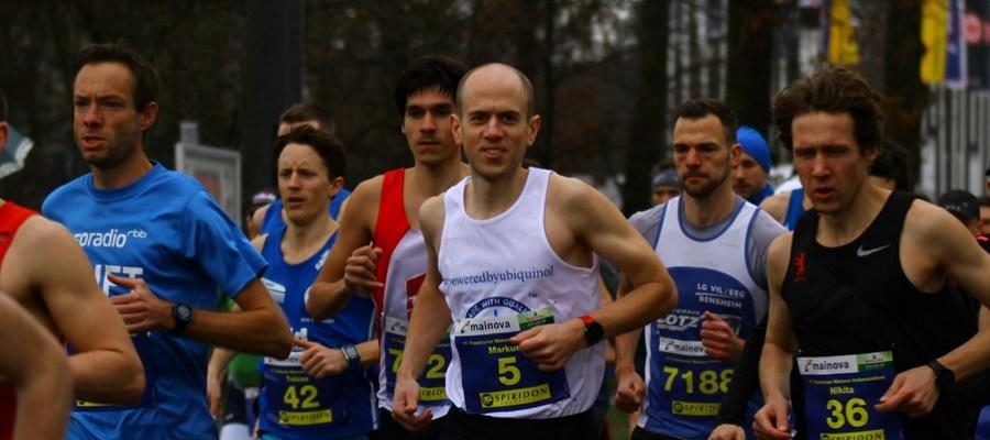 Frankfurt Spiridon Halbmarathon 2019 - ein windiger Auftakt zum neuen Mainlaufcup