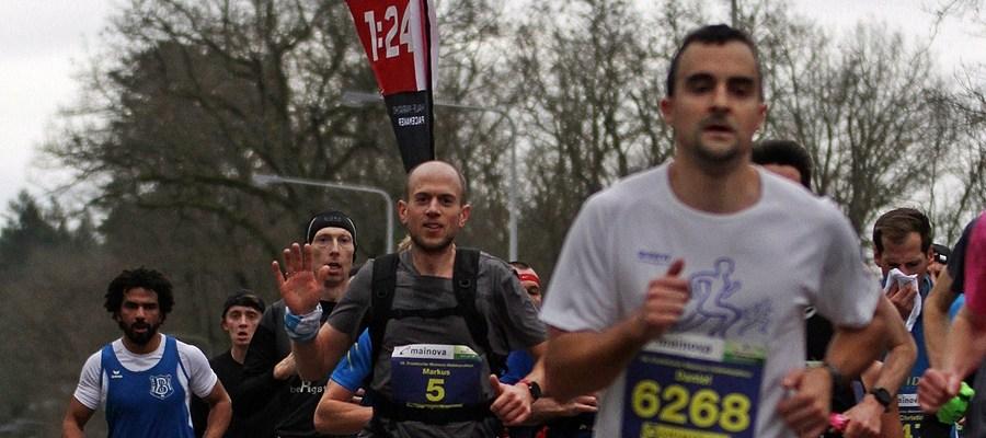 Zugläufer beim Frankfurter Halbmarathon