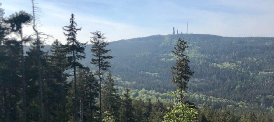 Bei der ersten Route meiner Taunus Virtual Trail Challenge ging es über Altkönig und Feldberg